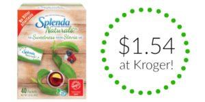 Kroger: Splenda Naturals Sweetener Only $1.54!