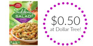 Dollar Tree: Suddenly Salad Only $0.50!