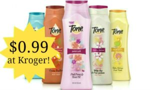 Kroger: Tone Body Wash Only $0.99!