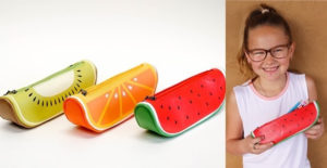 Back To School Fruity Pencil Cases – Was $15.99 – Ships for $7.98!