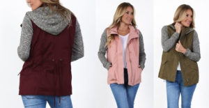Fall Jackets in New Colors – $19.99! (was $42.99)