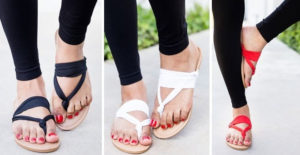 Yoga Style Slingback Sandals – $5.99!! (was $24.99)