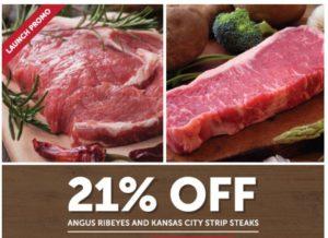 Zaycon Fresh Steak Sale: Ribeyes and Strip Steaks as low as $6.71/lb!