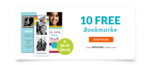 10 FREE Bookmarks – Just Pay Shipping! Great Gift Idea!