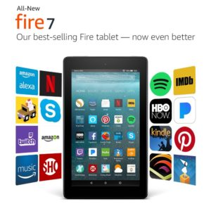NEW Fire 7 Tablet with Alexa and 7″ Display 8 GB Only $29.99!