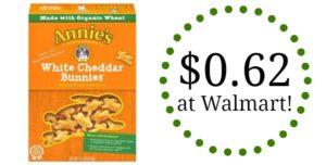 Walmart: Annie's White Cheddar Bunnies Only $0.62!