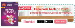 Save on NEW Shredded Wheat at Walmart with Ibotta!