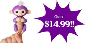 Fingerlings Interactive Baby Monkey Mia Only $14.99!