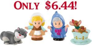 Fisher-Price Little People Disney Princess Cinderella & Friends Set Only $6.44!