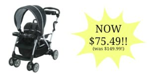 Graco Roomfor2 Click Connect Stand and Ride Stroller Only $75.39! (was $149.99)