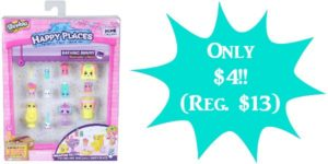 Happy Places Shopkins Decorator Pack Bathing Bunny Only $4 (Reg. $13)!