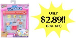 **HOT** Happy Places Shopkins Decorator Pack Puppy Parlour Set Only $2.89 (Reg. $13)!