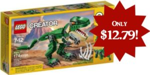 LEGO Creator Mighty Dinosaurs Set Only $12.79!