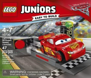 LEGO Juniors Lightning McQueen Speed Launcher Building Kit Only $8.77!