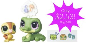 Littlest Pet Shop Alia Lagarto & Dabble Von Quack Figures Only $2.53 (Reg. $10)!