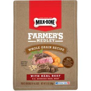 Meijer: Milk-Bone Farmer's Medley Dog Treats Only $1.00!