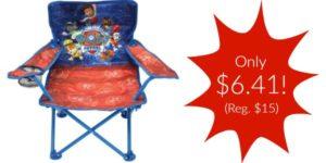 Paw Patrol Fold N' Go Patio Chair Only $6.41 (Reg. $15)!