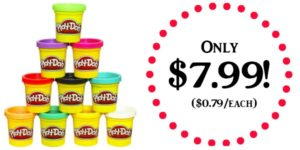 Play-Doh 10-Pack Only $7.99!