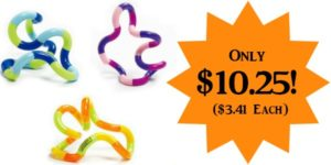 Tangle Jr. Fidget Toys 3-Pack Only $10.25 – $3.41 Each!