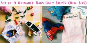 Set of 9 Reusable Mesh Bags Only $10.97 (Reg. $35)!
