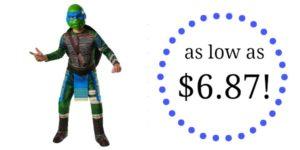 Teenage Mutant Ninja Turtles Child Leonardo Costume as low as $6.87!