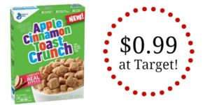 Target: Apple Cinnamon Toast Crunch Cereal Only $0.99!
