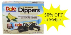 Meijer: Dole Dippers Only $1.99!