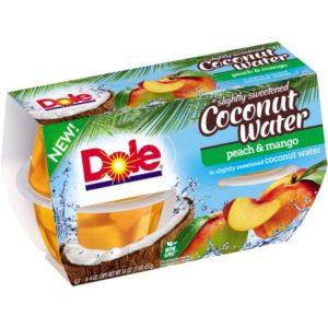 Kroger: Dole Fruit Cups 4-pack Only $1.00!