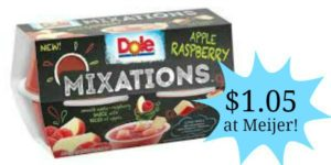 Meijer: Dole Mixation Cups Only $1.05!