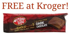 FREE Enjoy Life Boom Choco Boom Bars at Kroger!