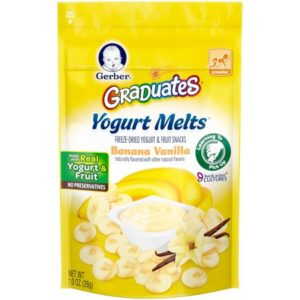Kroger: Gerber Graduates Yogurt Melts Only $1.24!