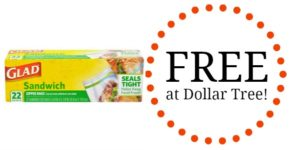 FREE Glad Food Protection Product at Dollar Tree!