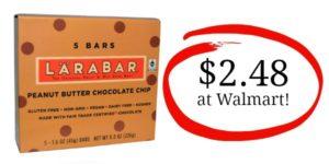Walmart: Larabar 5-count Multipack Only $2.48!