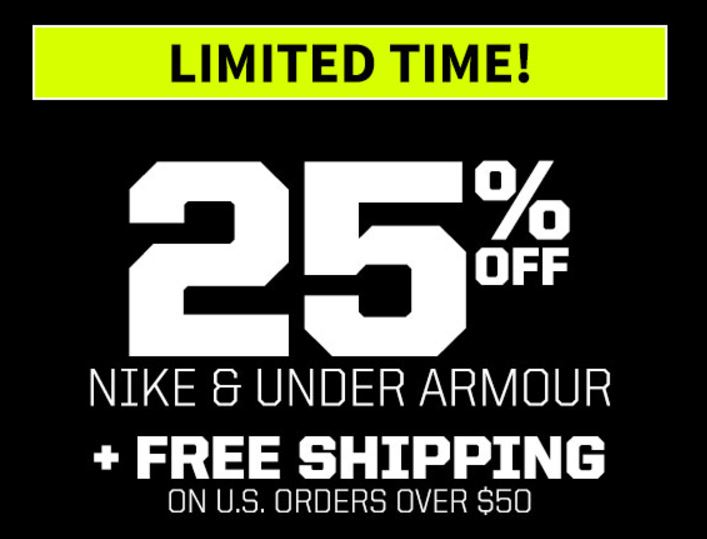 Under armour discount coupons