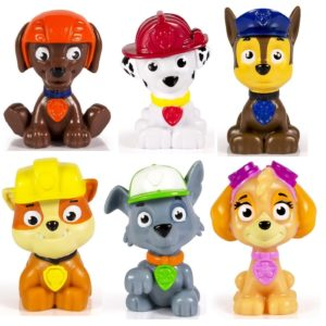 Set of 6 Paw Patrol Mini Figures Only $8.60!