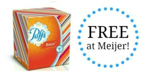 FREE Puffs Facial Tissues at Meijer!