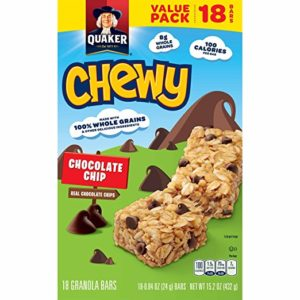 Quaker Chewy Granola Bars 18-Count Only $3.74! Best Price!