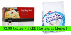 Meijer: $3.99 Seattle's Best Coffee + FREE Hostess Donettes or Mini Muffins!