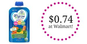 Walmart: Similac Go & Grow Pouches Only $0.74!