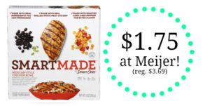 Meijer: Smart Made Entrees Only $1.75!