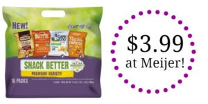 Meijer: Snyder's Variety Pack Only $3.99!