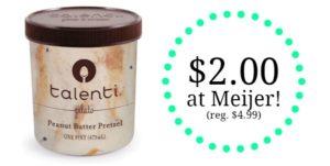 Meijer: Talenti Gelato Pints Only $2.00!