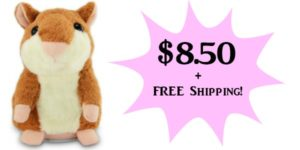 Talking Hamster Only $8.50 + FREE Shipping!