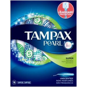 Kroger: Tampax Radiant or Pearl Tampons Only $0.99!