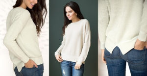 Drop Shoulder Sweater | Was $54.00 – Ships for $23.98!