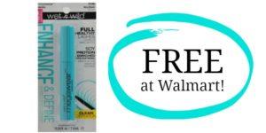 FREE Wet n Wild Enhance Mascara at Walmart!