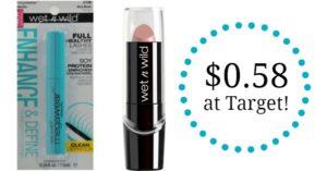 Target: Wet n Wild Makeup as low as $0.58!