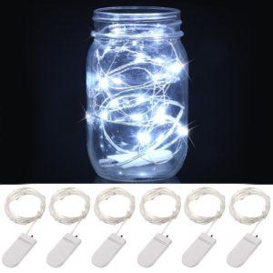 White LED Fairy Light 6-Pack Only $9.99!