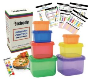 21 Day Fix Portion Control Containers Only $8.25! Best Price!