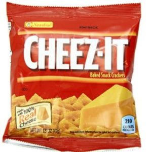 Kellogg's Cheez-It Baked Snack Crackers 36-Count Pack as low as $8.08 ($0.22/bag)!